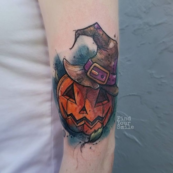 Halloween pumpkin by Russell Van Schaick